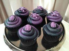 gothic cupcakes