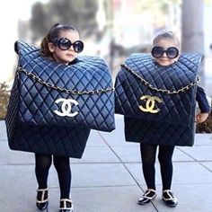 Chanel bags for Halloween :-)