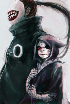 Eto, Noro, ghoul; Tokyo Ghoul