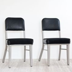 Black Steelcase Chairs