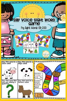 Worksheets Write In Word From 101 To 200 dolch word list sight games and on pinterest 1 75 sightwords silly game for fry words 101 200 this