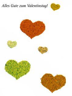 Unser Herz schlägt für herzhafte Gewürze. Wir wünschen allen einen schönen Valentinstag.