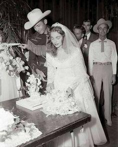 ~Hank & Billie Jean's wedding in Minden, LA.~