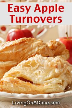 Easy Homemade Apple Turnovers Recipe - 18 Of The BEST EVER Apple Recipes recipes desserts homemade Fruit Recipes, Apple Recipes, Gourmet Recipes, Baking Recipes, Apple Desserts, Sweet Recipes, Dessert Recipes, Apple Turnovers With Puff Pastry, Soups