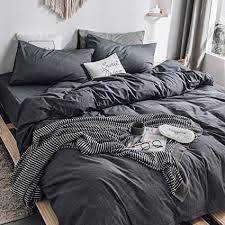 Shop Dark Gray Duvet Cover by AanyaLinen. This Dark Gray Duvet Cover helps to make your Ambiance so wonderful & colorful. Cotton Bedding Sets, Duvet Sets, Duvet Cover Sets, White Duvet Cover Queen, White Duvet Covers, Comforter Cover, Bed Duvet Covers, Jeongguk Jeon, Grey Duvet