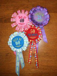 Ribbon Badge Set Embroidery Machine Design