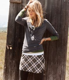 I love this outfit - perfect comfy casual look!
