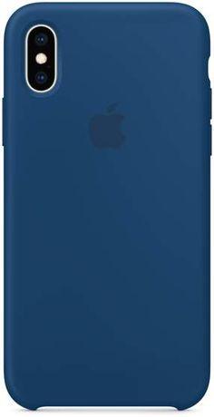 Apple iPhone XS Silicone Case - Blue Horizon da2bbfde5e7ce