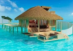 Paradise Island, The Maldives via Fascinating Places