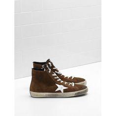 A buon mercato 2017 Golden Goose Uomo Scarpe FRANCY Marrone Sneakers  G31MS591.A56 ce18c622750