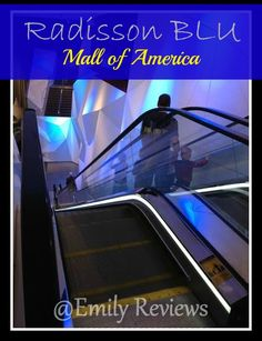 Radisson Blu Mall of America hotel is connected directly to the mall of america in Bloomington Minnesota. It's a gorgeous & convenient place to stay if you're shopping at the mall of america. #MinnesotaTravel MN