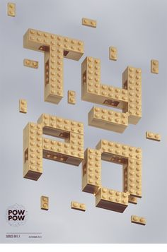 Type Series 01 by Pawel Pawelak, via Behance