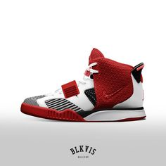 """Nike Air Jordan VI X Air Yeezy II 'Red October' X Flyknit Racer  www.blkvis.de"""
