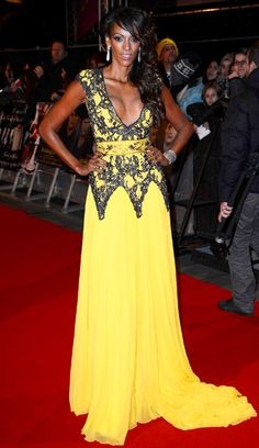 Judi Shekoni at the Breaking Dawn — Part 2 U.K. premiere in London