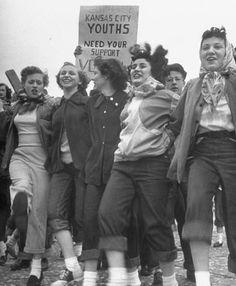 1950 jeans. #vintage #jeans