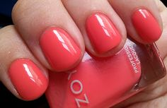 "Zoya (5 free vegan cruelty free nail polish) : ""ELODIE"" Love this color"