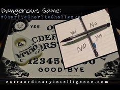 The New Twitter Charlie Charlie Challenge Will Bring Demons In2 Your Life & DESTROY You! - YouTube