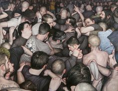 Dan Witz - Free For All #danwitz #jonathanlevinegallery
