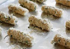 Skinny Baked Mozzarella Sticks | Skinnytaste