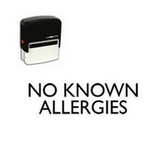 Are you looking for a health alert stamp? Buy a Self Inking 'No Known Allergies' Rubber Stamp online from Acorn Sales at a very attractive price. Rubber Stamp Online, Office Stamps, Self Inking Stamps, Acorn, Allergies, Medical, Health, Tassel, Health Care