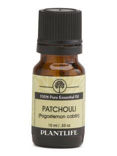 Essential Oil: Patchouli