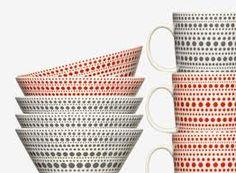 iittala from - available @ ROAM Nordic Design, Porcelain Ceramics, Finland, Sweet Home, Christmas Decorations, Seasons, Tableware, Minneapolis Minnesota, Xmas
