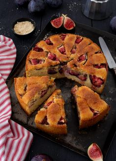 fig cake almond - My CMS Spice Cake Recipes, Fig Recipes, Easy Cake Recipes, Pumpkin Recipes, Family Recipes, Desserts With Biscuits, No Cook Desserts, Summer Dessert Recipes, Healthy Dessert Recipes