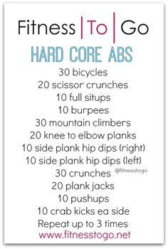 Hard Core Abs