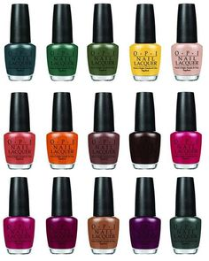 Review, Shades, Colors: OPI Washington DC Fall Winter Collection 2016, Nail Polish