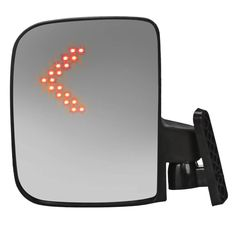 Side Mirrors w/LED for Golf Cart by Route 66 Golf Cart Accessories