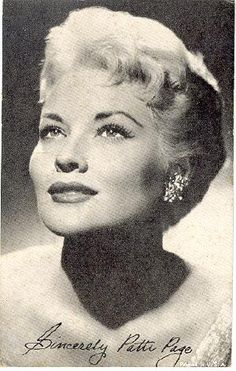 Met Patti Page-- 1950s Television and Music Entertainer in Las Vegas