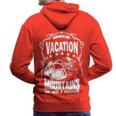 Luigi-Shop Urlaub Berge Natur Sommer Camping Sommerzeit ist Urlaubszeit. Berge und Natur, mehr brauche ich nicht für einen perfekten Urlaub im Sommer. Tolles Design für den Start mit dem Camper in den Urlaub oder zum Camping. Shops, Pullover Hoodie, Mountain S, Luigi, Camper, Graphic Sweatshirt, Vacation, Sweatshirts, Sweaters