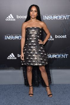 7 best looks from the 'Insurgent' premiere: Zoe Kravitz in Christian Dior Couture