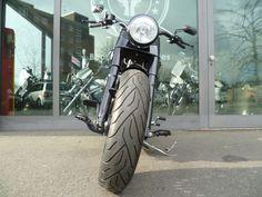 Harley-Davidson Fat Boy Special Low Black Bobber Umbau als Chopper/Cruiser in Düsseldorf