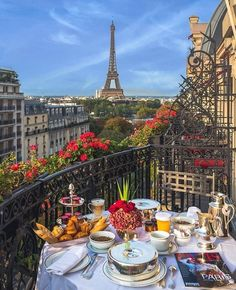"""The view from Carrie's hotel room at Hotel Plaza Athenee - Paris, France- Where """"Sex and the City"""" was filmed Oh The Places You'll Go, Places To Travel, Europe Places, Places In Italy, Beautiful Places To Visit, Cool Places To Visit, Beautiful Beaches, Travel Destinations, Hello France"""