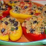 Quinoa Stuffed Peppers {Flashback Friday}