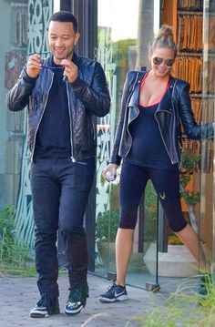 Pregnant model Chrissy Teigen and her husband spotted out and about Los Angeles, California on December 4, 2015. She recently shut down rumors about her having a feud with Tyra Banks and said that was not her reason for leaving FABLife.