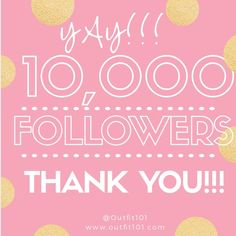✨✨👏Yay!!! 10k Many Thanks👏✨✨ Thanks to all my PFFs, I now have 10,000 followers....Yay👏🎊 Thanks for all your likes, shares and follows! Almost there, my goal is 20K! Please join me and let's keep the party moving!! Like this post, follow me and everyone else who likes it, then tag your friends to join the party!!! After that share, share and share again!!! Have an awesome day and lots of sales!!! 😊☺️😘l Follow Party Other