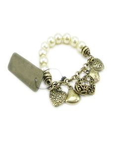 This is lovely without the price tag. What Is Vintage, Vintage Love, Pearl Bracelet, Pearl Jewelry, Lime Wedding, Mothers Day Presents, Vintage Pearls, Cheap Fashion, Fashion Necklace