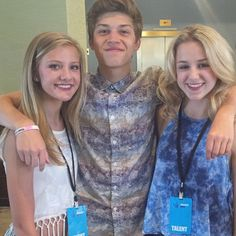 Paige, Ricky, and Chloe