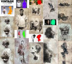 Vintage Photoshop Action  Download here: https://graphicriver.net/item/vintage-photoshop-action/15838382?ref=KlitVogli