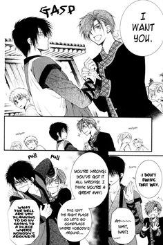 "Akatsuki no yona- Hak doesn't swing that way. poor Jeaha, he really ""wanted"" him that much. well no one can ignore Hak, everyone wants a piece of this best XD"