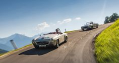 Female power over a thousand miles: Susie Wolff and Ellen Lohr at the Mille Miglia. - Mercedes-Benz