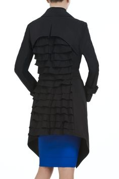 BCBGMaxazria Ophelia Novelty Trench Coat - must buy this