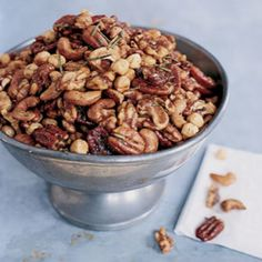 New York City's Union Square Cafe serves these nuts as an addictive snack.