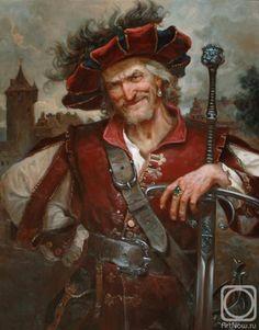 Renaissance characters, J-B Mossa High Fantasy, Fantasy Rpg, Medieval Fantasy, Fantasy World, Dnd Characters, Fantasy Characters, Fantasy Inspiration, Character Inspiration, Character Portraits