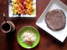 living beautifully...on a budget: Fruit Tacos with Chocolate Tortillas