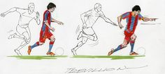 Dribble like Messi by Paul Trevillion #football #soccer #dfk #success