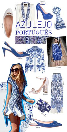 Portuguese tiles trends. | #fashion #Portugal