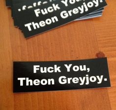 "Appropriate Stickers | 35 Coolest ""Game Of Thrones"" Items On Etsy"